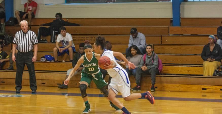 QCC Wyverns - Basketball game