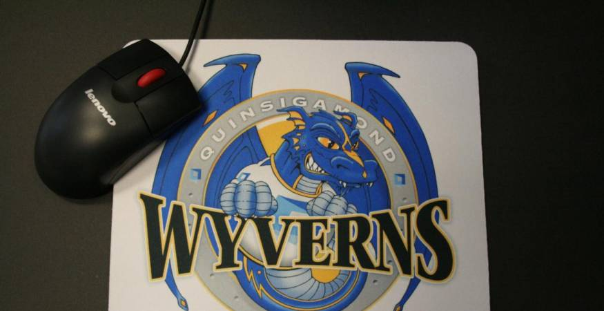 Wyvern mouse pad design