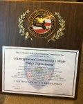 QCC Campus Police Accreditation Award.