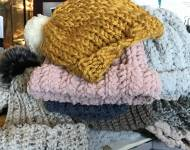 Donated hats