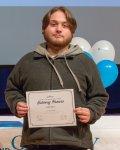 Connor Antul, one of Gateway Honors graduates.