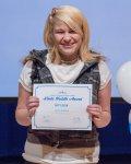 Lauren Kolonusz, a Linda Huddle Award winner.