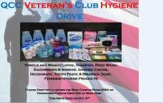 Hygiene Drive flyer