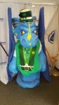 Saint Patrick's Day Wyvern Costume